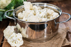 Fresh Cauliflower Stock Photos