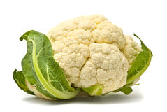 Fresh cauliflower head Stock Photo