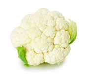 Fresh cauliflower isolated on the white background Stock Photography
