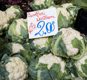 Fresh Cauliflower Stock Photos