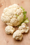 Fresh cauliflower on the table Royalty Free Stock Images