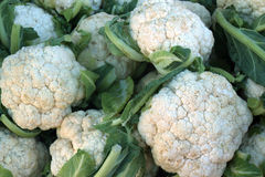 Fresh cauliflower. Vegetables for cooking. Fresh cauliflower. Vegetables. Dietary food Stock Photo