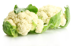 Fresh cauliflowers Royalty Free Stock Photos
