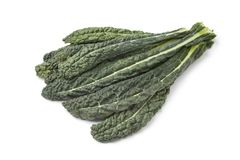 Fresh Cavolo Nero leaves Stock Photo