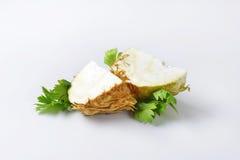 Fresh celery root Stock Image