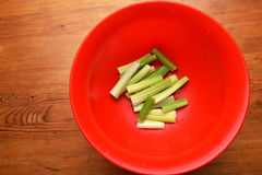 Fresh celery sticks Stock Photography