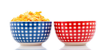 Fresh cereal corn flakes Royalty Free Stock Photo