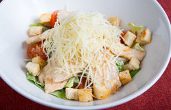 Fresh cesar salad Royalty Free Stock Images