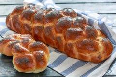Fresh challah bread for Shabbat. Stock Images