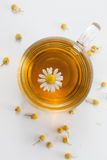 Fresh chamomile tea Royalty Free Stock Photo
