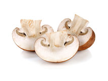 Fresh champignon mushrooms Royalty Free Stock Images