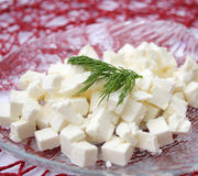 Fresh cheese Royalty Free Stock Photography