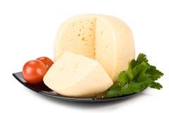 Fresh cheese Royalty Free Stock Photo