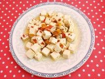 Fresh cheese Stock Image