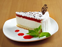 Fresh cheesecake Royalty Free Stock Photography