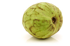 Fresh cherimoya fruit (Annona cherimola) Royalty Free Stock Image