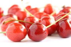 Fresh cherries Stock Image