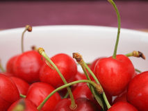 Fresh cherries close up Stock Photography