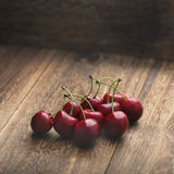 Fresh cherries at farm. Photographed fresh cherries at farm Stock Photo
