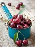 Fresh cherries Stock Photos