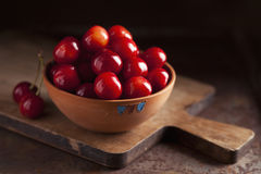 Fresh cherries Stock Photo