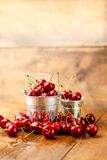 Fresh cherries Royalty Free Stock Image