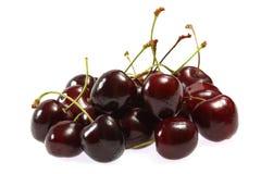 Fresh cherries on white background Stock Photography