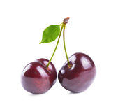 Fresh cherry Royalty Free Stock Image