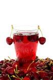 Fresh cherry juice Royalty Free Stock Photography