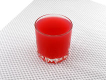 Fresh cherry juice in a glass Stock Photography