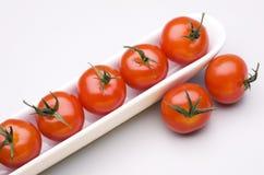 Fresh cherry tomatoes. Stock Photos