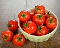 Fresh cherry tomatoes Stock Image