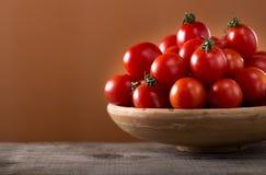 Fresh cherry tomatoes Stock Image