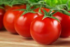 Free Fresh Cherry Tomatoes Closeup Stock Images - 29768084