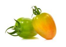 Fresh cherry tomatoes isolated on white background Stock Photography