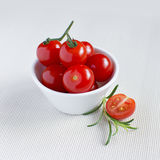 Fresh cherry tomatoes Stock Photography