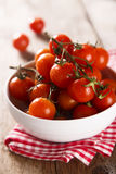 Fresh cherry tomatoes Royalty Free Stock Photos