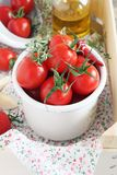 Fresh cherry tomatoes Stock Photo