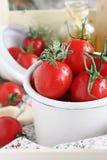 Fresh cherry tomatoes Stock Photos