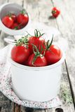 Fresh cherry tomatoes Royalty Free Stock Photo