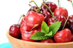 Fresh cherry Stock Photo