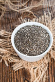 Fresh Chia Seeds Royalty Free Stock Images