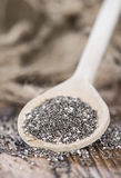 Fresh Chia Seeds Stock Images