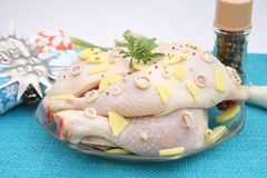 Fresh Chicken Royalty Free Stock Image