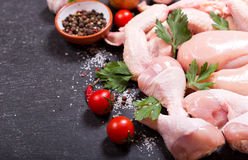 Fresh chicken meat royalty free stock photo