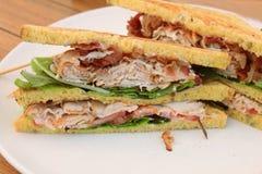 Fresh chicken meat sandwich Stock Photo
