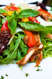 Fresh chicken salad Royalty Free Stock Images