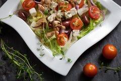 Fresh chicken salad Royalty Free Stock Photo