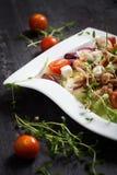 Fresh chicken salad Stock Photo