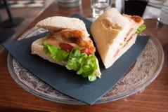 Fresh chicken sandwich Stock Images
